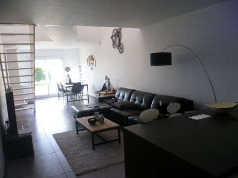 LOFT RDC  en duplex de 100m² hab. - jardin - parking privatif /  n°6048