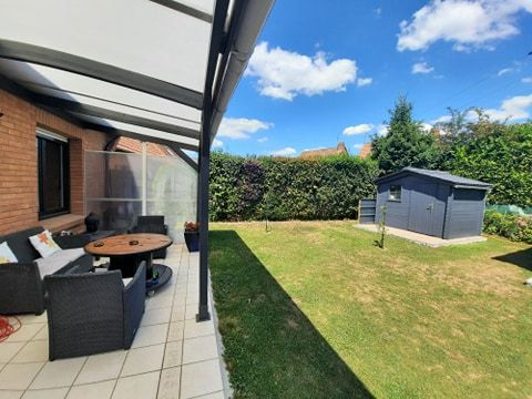 Individuelle jardin garage à Hallennes lez Haubourdin N°6002