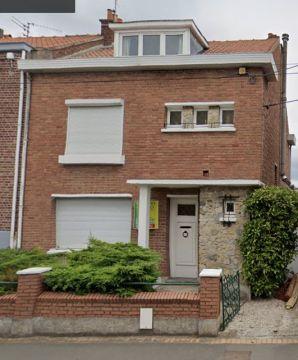 Maison des années 60  jardin garage à Hallennes Lez Haubourdin / Réf 6047