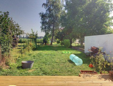 Semi individuelle 3 chambres jardin à  Hallennes lez Haubourdin / Ref 6106