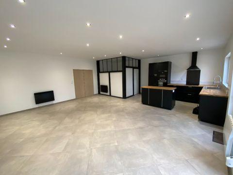 Maison flamande rénovée Semi-plain-pied -jardin -garage/N°6180