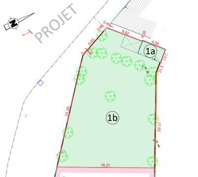 Terrain à bâtir d'environ 379m² secteur Salomé-La-Bassée / n° 6266