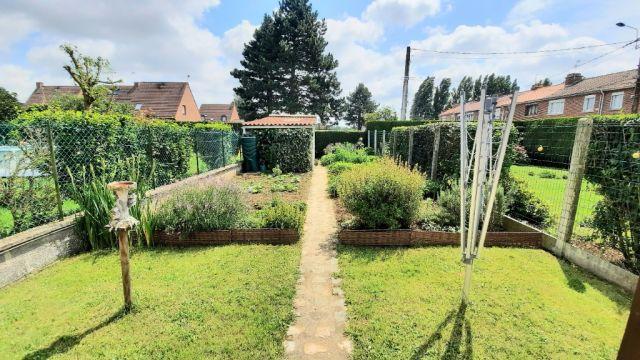 Maison de lotissement 3chb jardin garage à Sequedin / ref 6271
