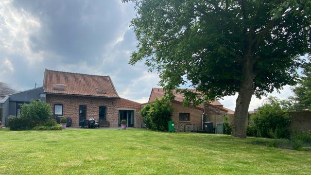 Maison secteur Fromelles 132 m2 hab 3 ch parcelle 650 m2 N°7028